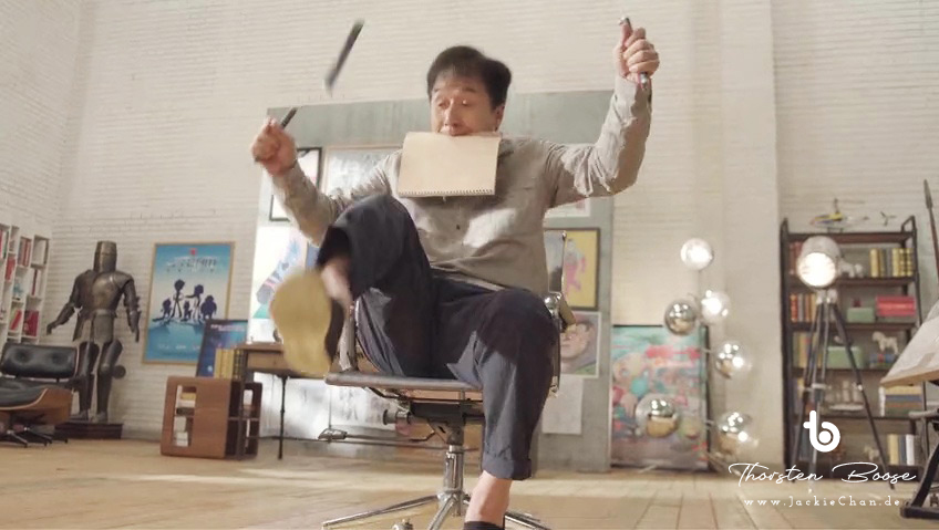 """Jackie Chan als er selbst in """"All New Jackie Chan Adventures"""" (新成龙历险记)"""