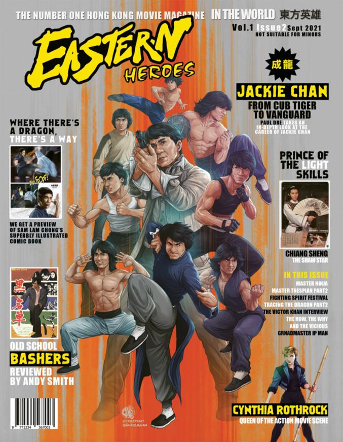 Eastern Heroes vol. 2 (September 2021)
